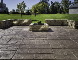 stamped concrete sealing service