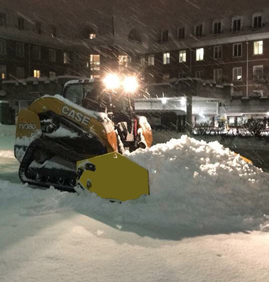 Commercial Snow Removal in Naperville