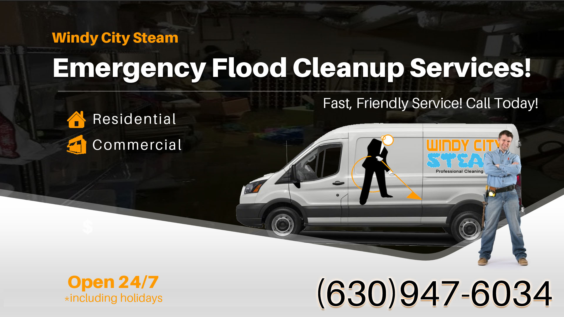 Emergency Flood Cleanup