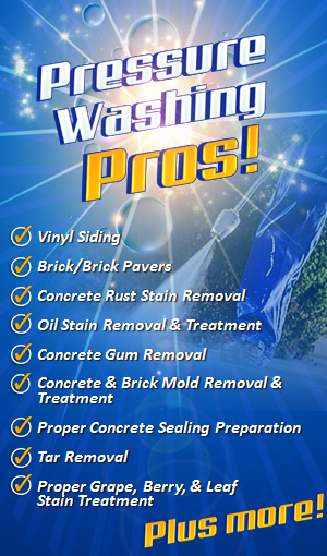 Pressure washing pros