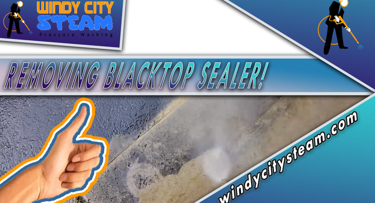 How To Remove Blacktop Sealcoating